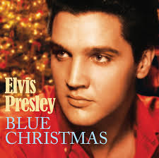 blue christmas elvis